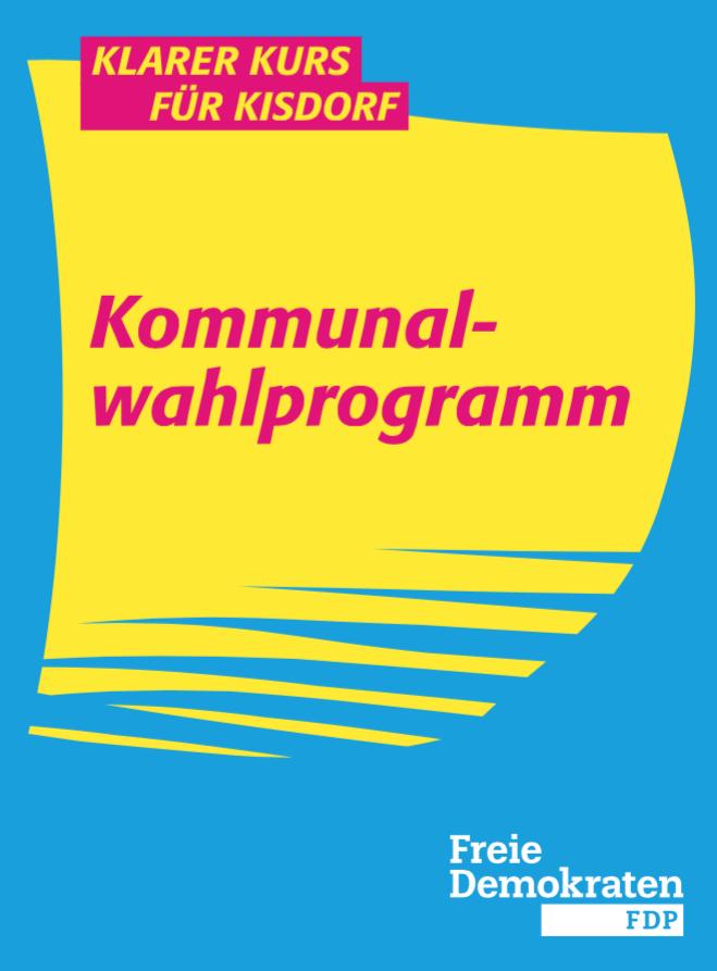 Kommunalwahlprogramm der FDP Kisdorf 2018