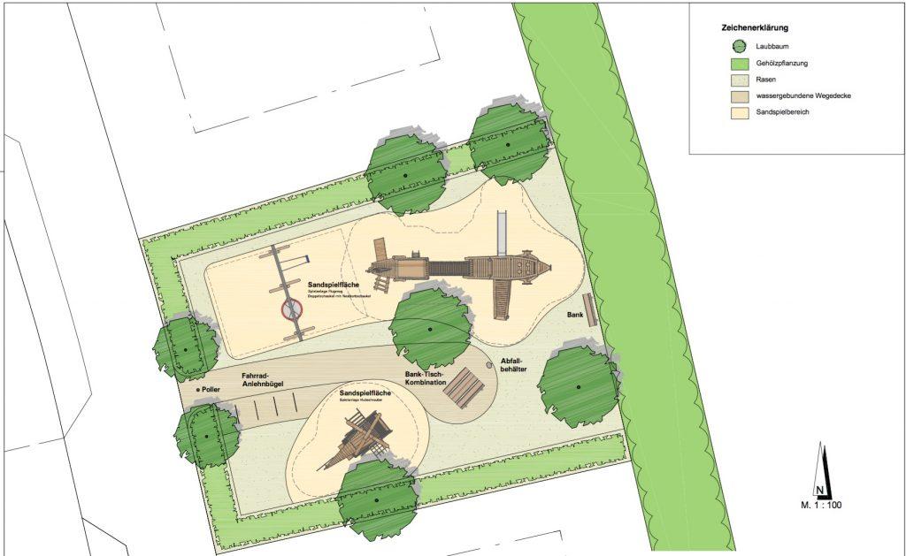 Entwurf Spielplatz Spuntkissen III